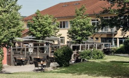 Hotel Klosterhof buitenterras