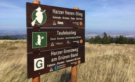 Bord Harzer-Hexen-Stieg