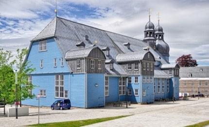 Houtkerk Clausthal-Zellerfeld