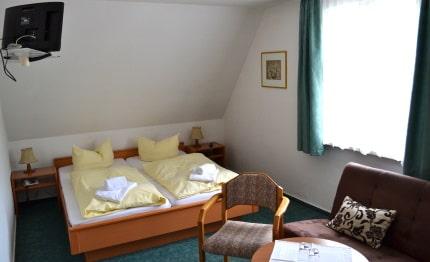 Hotel Zum Harzer Jodlermeister tweepersoonskamer