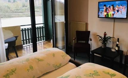 Tweepersoonskamer Hotel Brauer