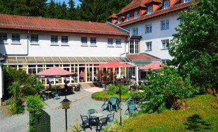 Terras hotel Rodebachmühle