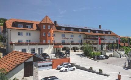Hotel Edelfinger Hof voorzijde