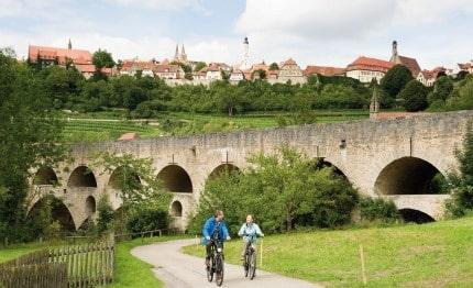 Fietsen met Rothenburg ob der Tauber