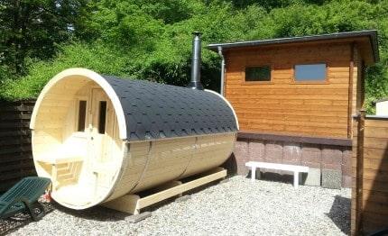 Sauna houtbarrel