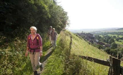 Wandelen in wandel-walhalla Teutoburgerwoud